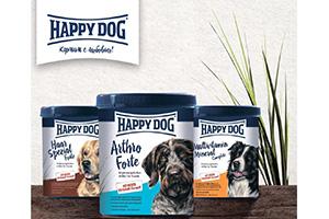 Компания «Гранд Альфа» начала продажу кормовых добавок Happy Dog
