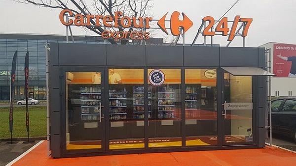 Carrefour тестирует автоматизированный магазин в Польше