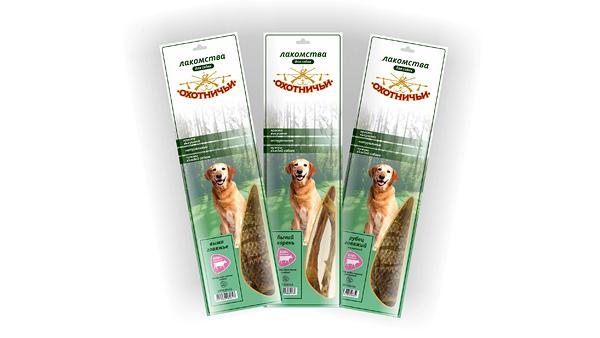 «Зооконтинент» выпустил большие упаковки «Охотничьих лакомств»