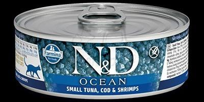 TUNA, COD, SHRIMP WET FOOD