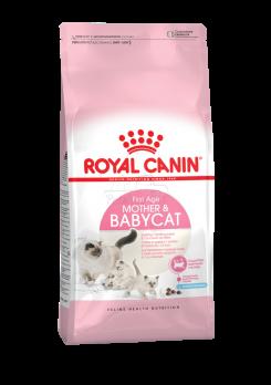 Mother And Babycat (Мазер энд бэбикет) Питание для котят в возрасте с 1 до 4 месяцев, а также беременных и лактирующих кошек