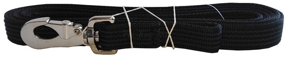 Поводок из капроновой ленты с латексным (прорезиненным) слоем
