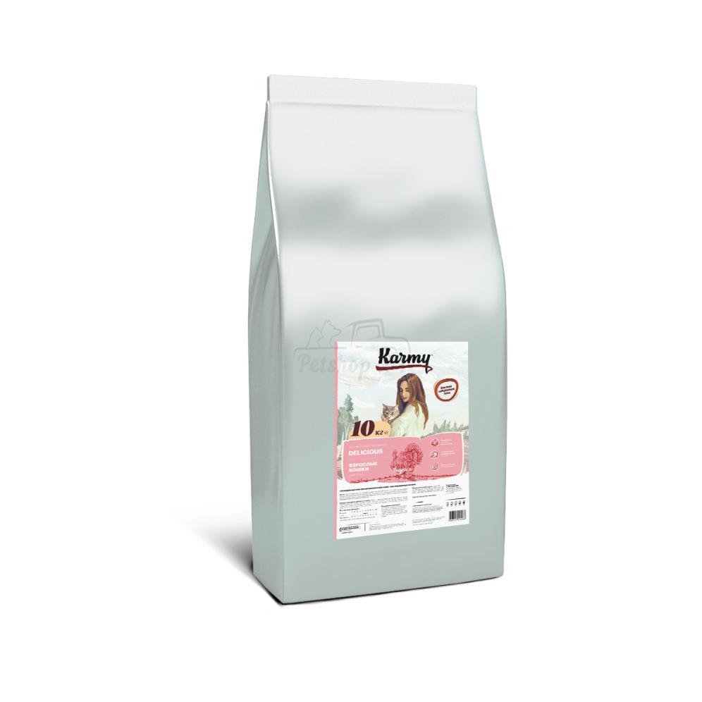 Способствует поддержанию здоровья кожи и шерсти кошки
