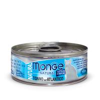 Консервы Монж для кошек атлантический тунец 80гр Monge Cat Natural_1