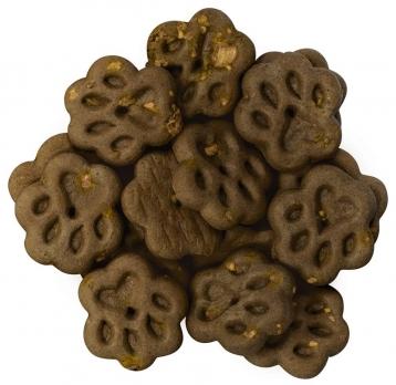 Печенье с добавлением свежего мяса утки.