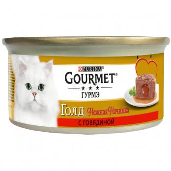 Изысканные корма Gourmet Гурмэ Голд созданы для разборчивых кошек с тонким вкусом