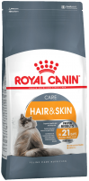 HAIR SKIN CARE (ХЭЙР ЭНД СКИН КЭА) Питание для кошек в возрасте от 1 года и старше, обеспечивает здоровье кожи, красоту и блеск шерсти после 21 дня кормления_0