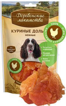 Деревенские лакомства Куриные дольки нежные 90 гр_0