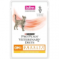 Влажный корм Purina Pro Plan Veterinary diets OM, корм для кошек при ожирении, курица 85 гр_2